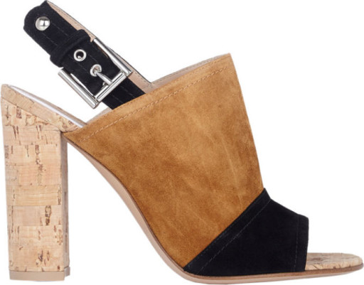 Gianvito Rossie Suede Slingback Sandals, $695