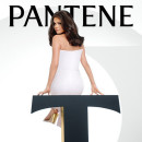 Selena Gomez Endorses Pantene in Golden Heels and White-Hot Outfits