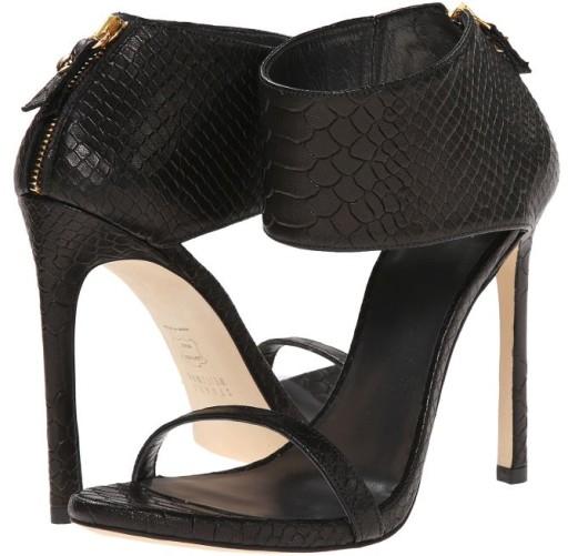 Stuart Weitzman Showgirl Ankle Cuff Sandals, $450