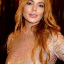 Lindsay Lohan Wears Glitter Shoe and She Was Absolutely Amazing