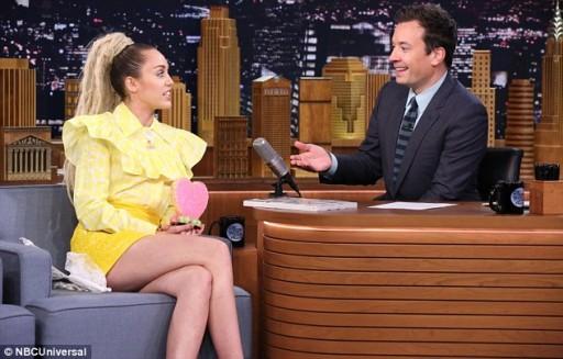 Miley Cyrus tv 2015